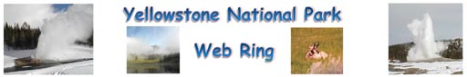 The Yellowstone National Park Web Ring